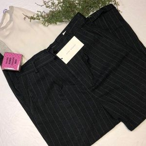 NWT Zara pinstripe trousers